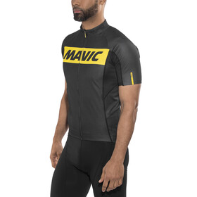 Mavic Cosmic Kortærmet cykeltrøje Herrer sort